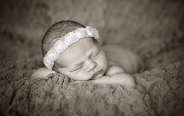 Спящий ребенок фотография