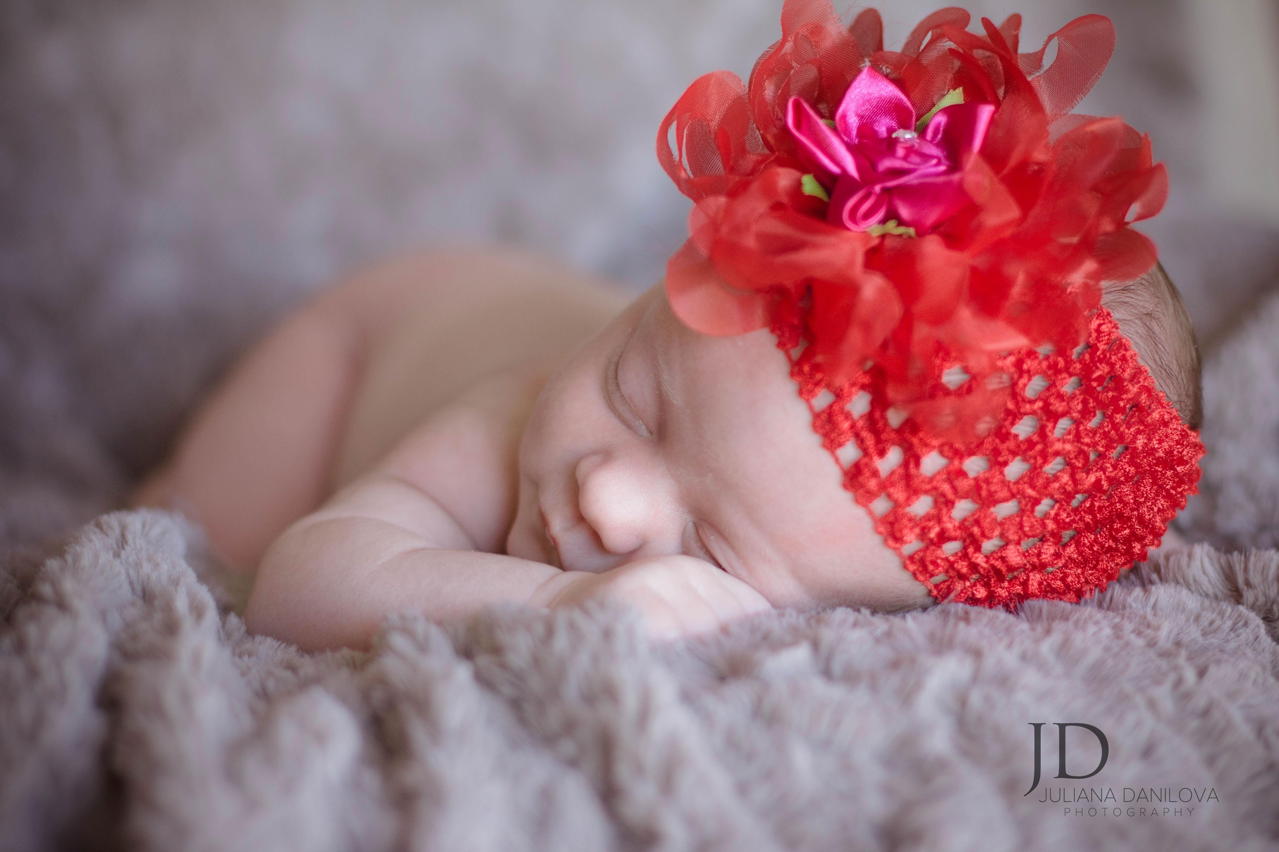 Фотографируем новорожденного