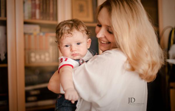 Фотосессия мамы и детей