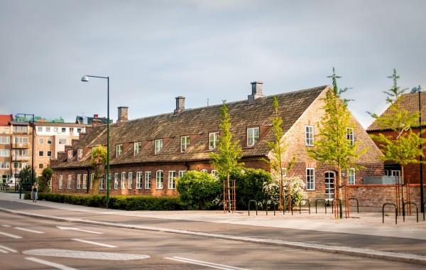 Старинный дом в Мальмё, Швеция