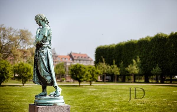 Статуя в Королевском саду Копенгагена