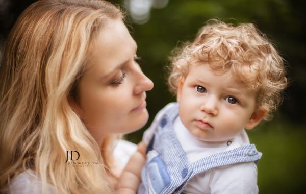 Мама и сыночек фотография