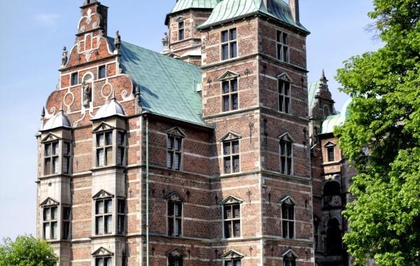 Фото Копенгаген дворец Росенборг
