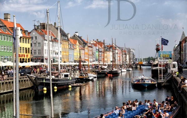 Фото Копенгаген канал Nyhavn