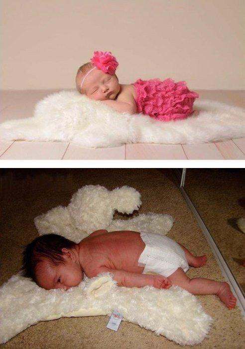 смешное фото младенца