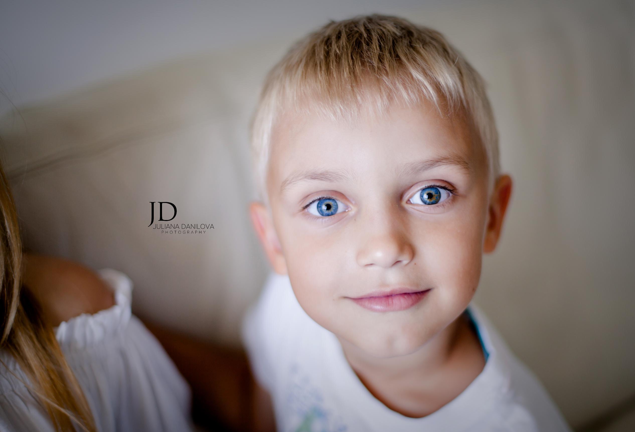 Фотосессия мальчика Юлиана Данилова