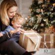 Новогодние подарки. Рождественская фотосессия