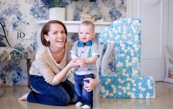 Всего один годик – счастливый малыш