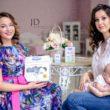 Беременная фотосессия с косметикой спонсора